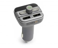 Technaxx FM transmitter + MP3 přehrávač + Bluetooth LCD display FMT900BT