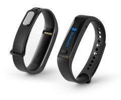 Technaxx fitness náramek ACTIVE, OLED, Bluetooth 4.0, Android/iOS, TX-38 černý