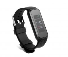 Technaxx fitness náramek HEART RATE, Bluetooth 4.0, Android/iOS, černý (TX-81)